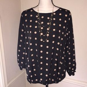 Lovely Polka Dot Top by Metaphor
